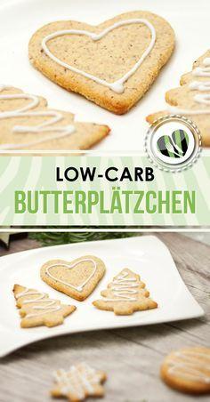 Die low-carb Butterplätzchen sind nicht nur zu Weihnachten ein perfekter Snack. Sie sind auch optimal für alle andere Gelegenheiten.