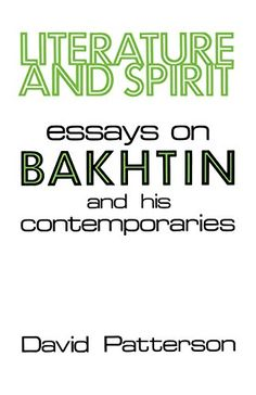 bakhtin essays and dialogues on his work