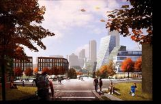 New Lower Hill Master Plan | Architect Magazine | Bjarke Ingels Group (BIG), West 8 Urban Design and Landscape Architecture, Atelier Ten, Planning, Multifamily, Community, Cultural, Mixed-Use, Hospitality, Commercial, New Construction, Urban Development, Pennsylvania, Pittsburgh, PA