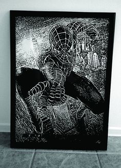 Spiderman by Lavinkworld on Etsy