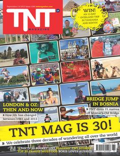 TNT Magazine celebrates 30 years! Grab a copy of a special anniversary edition on Monday all over London - or read the eMag at www.tntmagazine.com/emag