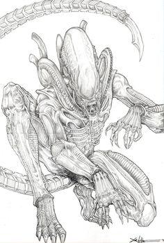 Xenomorph Alien - ChrisOzFulton.deviantart.com