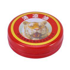 new 1pcs Tiger Balm Plaster Ointment Creams Balsamo de Tigre Essential Oils For Mosquito Elimination Headache Cold Dizziness