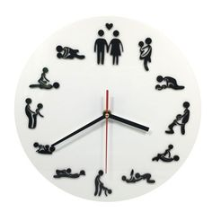 Just In Karma Sutra Sex P... Shop Now! http://www.shopelettra.com/products/karma-sutra-sex-position-clock?utm_campaign=social_autopilot&utm_source=pin&utm_medium=pin