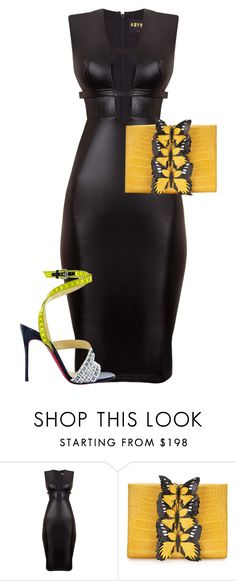"""Untitled #5082"" by stylistbyair ❤ liked on Polyvore featuring Nancy Gonzalez and Christian Louboutin"