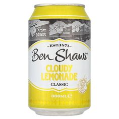 Risolverà la vostra sete.   —   This will quench your thirst.  #ben #shaw #bibite #soft #gas #drink #ciboinglese  —>http://www.richmonds.it/item/ben-shaw-cloudy-lemonade-330ml.html
