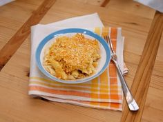 Get Sunny's Easy Chipotle Chicken Baked Mac and Cheese Recipe from Food Network