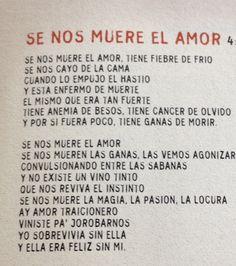 """Se nos muere el amor"" Ricardo Arjona"