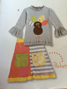 turkey patchwork outfit