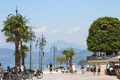Promenade Lazise on Lake Garda