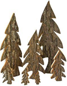 oh tannenbaum aus holz set mit 2 gr en angelika ideen aus holz weihnachten. Black Bedroom Furniture Sets. Home Design Ideas
