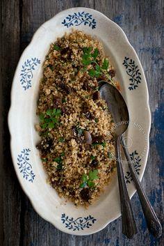 Tipili (Tabbouleh) de Cuscús y Tomates Secos: Un plato vegetariano rebosante de sabor