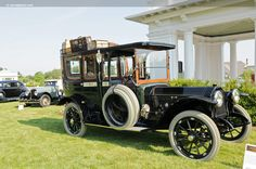 1913 Peerless Model 48 Kimbell Town Car