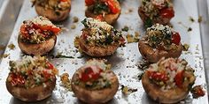 A delicious burst cherry tomato and herbed ricotta crostini recipe that will wow your guests. This is entertaining made easy. Easy Appetizer Recipes, Appetizers, Valerie's Home Cooking Recipes, Granola, Mushroom Recipes, Mushroom Soup, Veggie Recipes, Soup Recipes, Cookie Recipes