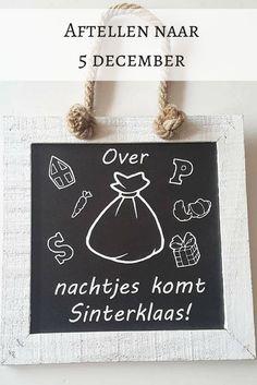 Leuke manier om af te tellen naar Sinterklaas voor mijn kleuter! #Sinterklaas #Sinterklaasfeest #5december #Sintenpiet #affiliate