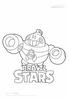 Brawl Stars Coloring Pages Tick Star Character, Character Drawing, Star Coloring Pages, Clash Royale, Star Art, Ticks, Learn To Draw, Kids And Parenting, Sailor Moon