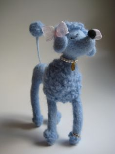Needle Felt.....Snooty Poodle