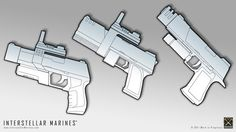 Old pistol concepts (2003).