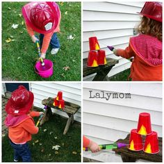 3 Easy Fire Safety Activities for Kids- fire truck party ideas