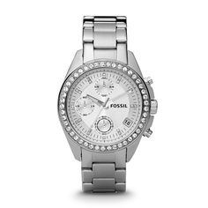 $115 Fossil Boyfriend Watch - Fossil Decker Chronograph Stainless Steel Watch ES2681 | FOSSIL®