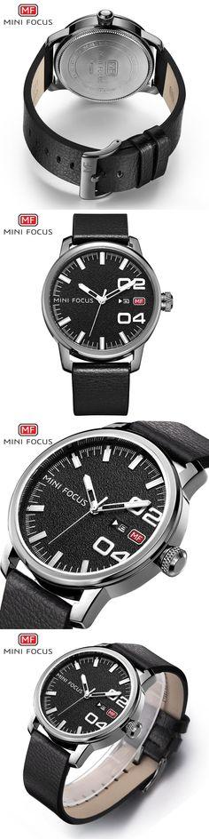 New 2017 Top Brand Men Wrist Watches Quartz Watch MINIFOCUS Casual Famous Male Clock Hodinky Montre Homme Relogio Masculino