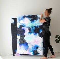 Abstract Artist Mette Lindberg. www.metteslindbergart.com