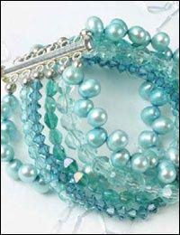 Making a Bracelet: Rachael's Wedding Bracelet by Rebecca Campbell