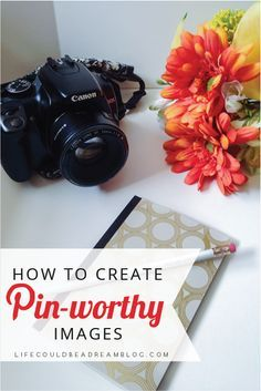 Tips for creating pin worthy images that will make a difference in the amount of traffic you get from Pinterest!