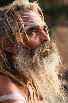 Sadhus de Varanasi (Inde)                                                                                                                                                                                 Plus