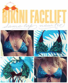 """""""tie your bikini a different way for a whole new look."""" this is different... dunno how well it'd work with other styles"""