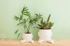 Ceramic planter – Basic Sprawl – Size S . Handmade ceramic pot.