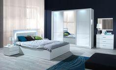 schlafzimmermöbel 1960 | Schlafzimmer Set Weiß: Komplett Schlafzimmer Siena…