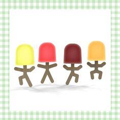 Waterijsvorm om ijspoppetjes mee te maken! http://dekinderkookshop.nl/product/waterijs-poppetjes/