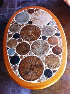 Tue Poulsen Ceramic Art Coffee Table, Haslev Denmark – Mara Home