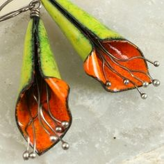 Copper Enamel Jewelry