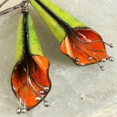 Copper Enamel Jewelry