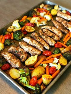 Pan Balsamic Chicken Dinner Save Print Prep time 10 mins Cook time 30 mins Total time 40 mins Let me introduce you to the perfect Summer meal, one pan balsamic chicken! There is hardly any prep time but tons of f Clean Eating Recipes For Dinner, Clean Eating Snacks, Dinner Healthy, Healthy Food, Breakfast Healthy, One Pan Dinner Recipes, Raw Food, Dessert Healthy, Paleo Food