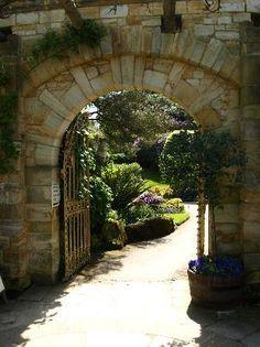 Stone, arch, elegant, classic