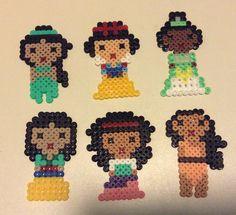 Dark haired princesses