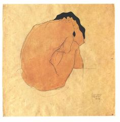 by Egon Schiele (1910) http://workman.tumblr.com/post/5267893072/orthoepy-by-egon-schiele-1910