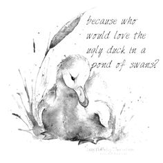 ugly duckling tattoo - Google Search