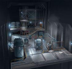 underground research facility visio