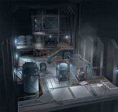 underground research facility visio