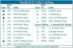 Toddler Birthstone Fairy September Sapphire Cross Stitch Pattern 5/5
