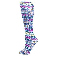 Celeste Stein Emerald Dazzle 15-20 mmhg Compression Sock - 1 pr: Printed & Fashionable One size fits most… #Pharmacy #OnlinePharmacy #Health