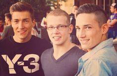 Philipp Boy, Fabian Hambüchen and Marcel Nguyen #Germany #Olympics #2012