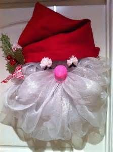 Santa Wreath | Christmas - Wreath