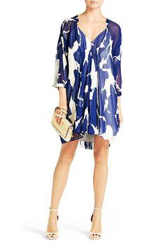 Fleurette Dress   Dresses by DVF
