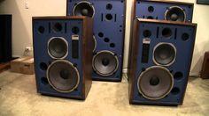 KRS 4341 Speakers (Mirror image baffle JBL 4341) Complited at KENRICK US...