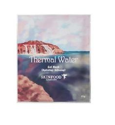 SKINFOOD Thermal Water Sheet Masks. The perfect facial for the lazy girl.